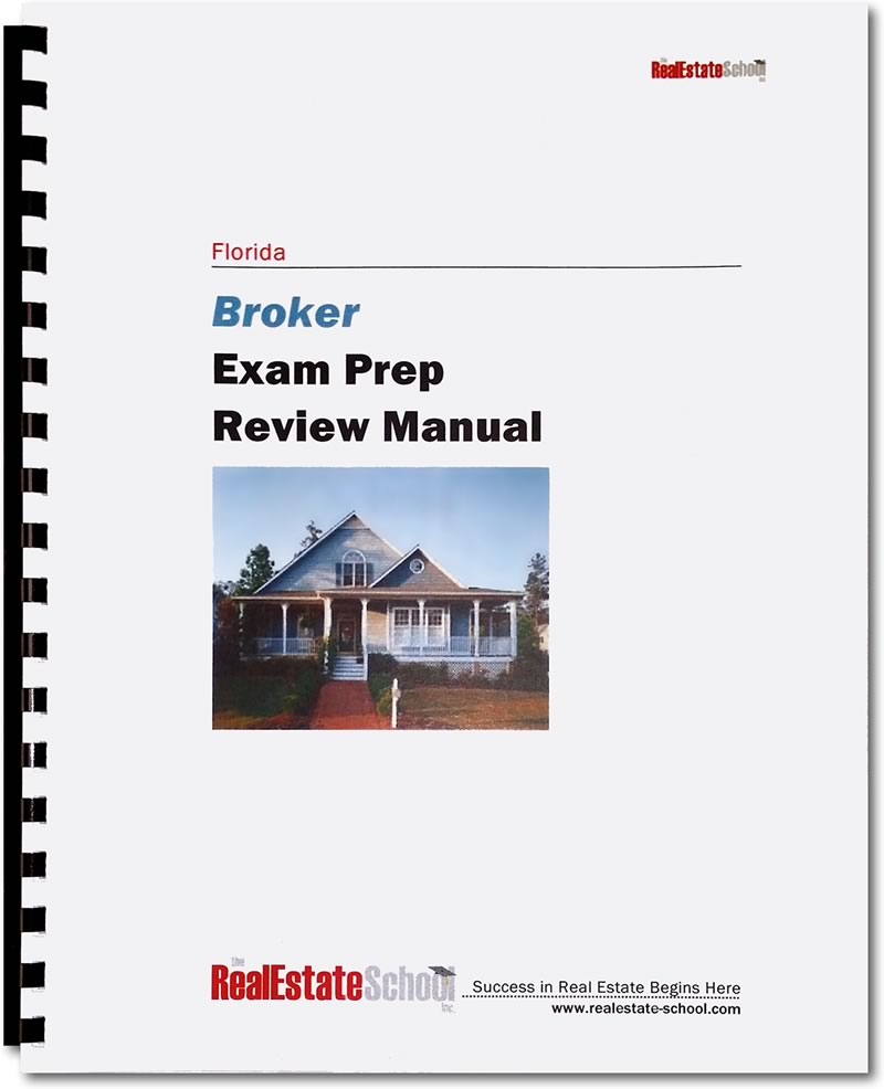 Real estate broker exam questions