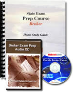 Broker Audio CD, Computer CD and Exam Manual Bundle