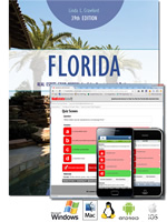 Florida Real Estate Exam Manual and Interactive Questions and Answers Software bundle