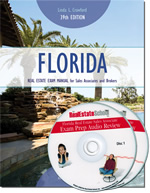 Florida Real Estate Exam Manual and Audio CD Bundle